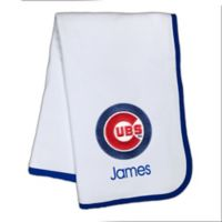 Designs by Chad and Jake MLB Chicago Cubs Baby Blanket