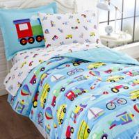 Olive Kids On the Go 7-Piece Multicolor Full Comforter Set