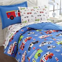 Olive Kids Heroes 7-Piece Multicolor Full Comforter Set