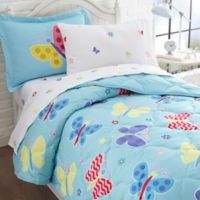 Olive Kids Butterfly Garden 7-Piece Multicolor Full Comforter Set