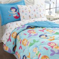 Olive Kids Mermaids 7-Piece Multicolor Full Comforter Set