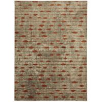Metropolitan Gianni 8-Foot x 11-Foot Area Rug in Burnt Orange