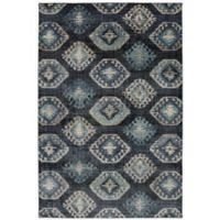 Metropolitan Ion 8-Foot x 11-Foot Area Rug in Dark Blue