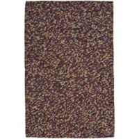 Capel Stoney Creek Rectangular Knotted 4-Foot x 6-Foot Area Rug in Purple