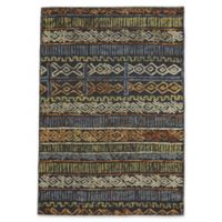 Capel Rugs Congo Geometric 5-Foot x 8-Foot Area Rug in Ash