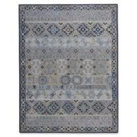 Capel Rugs Smyrna Afghan 5-Foot x 8-Foot Area Rug in Ash