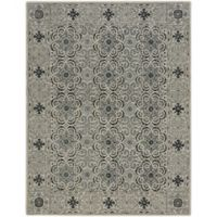Capel Rugs Smyrna-Palais 3-Foot x 5-Foot Accent Rug in Grey