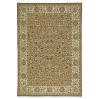 Capel Rugs Centennial-Floret 5-Foot 3-Inch x 7-Foot 6-Inch Area Rug in Brown