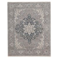 Capel Rugs Biltmore Plant-Sirocco 5-Foot 6-Inch x 8-Foot x 6-Inch Area Rug in Grey