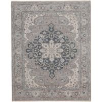 Capel Rugs Biltmore Plant-Sirocco 7-Foot 6-Inch x 9-Foot x 6-Inch Area Rug in Grey