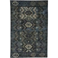 Capel Rugs Striation 8-Foot x 10-Foot Area Rug in Blue