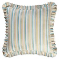 Natural Shells European Pillow Sham in Blue/Beige