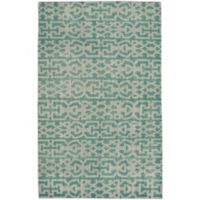 Capel Rugs Classic Keeneland 3-Foot 6-Inch x 5-Foot 6-Inch Area Rug in Green