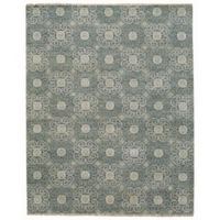 Capel Rugs Burmese Geometric Flowers 7-Foot 6-Inch x 9-Foot 6-Inch Area Rug in Grey