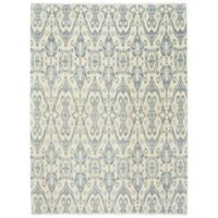 Capel Rugs Burmesse-Ikat 8-Foot 6-Inch x 11-Foot 6-Inch Area Rug in Blue