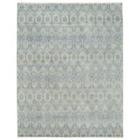Capel Rugs Burmesse-Temple 8-Foot 6-Inch x 11-Foot 6-Inch Rug in Blue