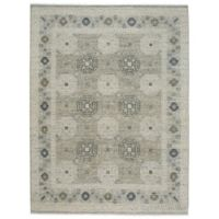 Capel Rugs Burmesse Tile 3-Foot 6-Inch x 5-Foot 6-Inch Area Rug in Grey