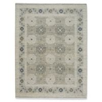 Capel Rugs Burmesse Tile 5-Foot 6-Inch x 8-Foot 6-Inch Area Rug in Grey