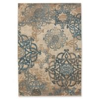 Capel Rugs Bethel-Celtic 5-Foot 2-Inch x 7-Foot 6-Inch Indoor/Outdoor Area Rug in Blue