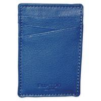 Buxton® Addison RFID Front Pocket Money Clip in Indigo