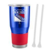 NHL New York Rangers 30 oz. Ultra Tumbler with Straws