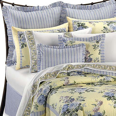 Laura Ashley® Caroline Reversible Comforter Set