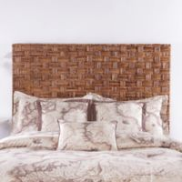 Palmetto Home Panama Jack Driftwood Collection Banana Coffee Twin Headboard