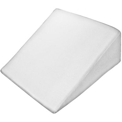 pharmedoc steep wedge pillow in white