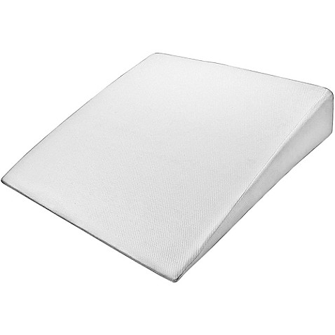 Pharmedoc 174 Large Wedge Pillow In White Bed Bath Amp Beyond