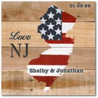 "Courtside Market ""Love New Jersey"" Canvas Wall Art"