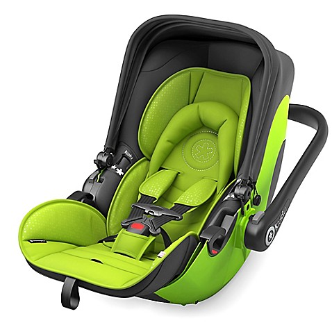 Lime Green And Black Infant Car Seat