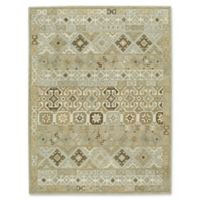 Capel Rugs Smyrna-Afghan 5-Foot x 8-Foot Area Rug in Beige