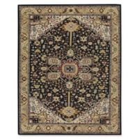 Capel Rugs Smyrna Serapi 5-Foot x 8-Foot Multicolor Area Rug