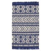 Capel Rugs Genevieve Gorder Abstract 5-Foot x 8-Foot Area Rug in Blue