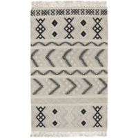 Capel Rugs Genevieve Gorder Abstract 7-Foot x 9-Foot Area Rug in Beige