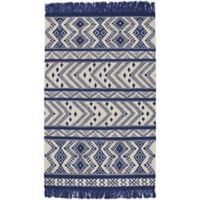 Capel Rugs Genevieve Gorder Abstract 7-Foot x 9-Foot Area Rug in Blue
