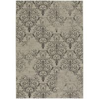 Capel Rugs Elsinore Heirloom 7-Foot 10-Inch x 11-Foot Area Rug in Grey