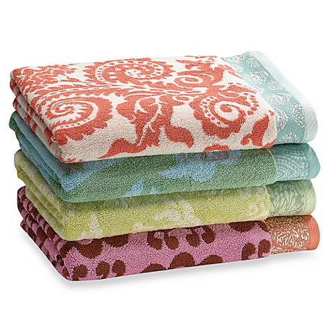 Amy Butler Bath Towels, 100% Cotton, 10% Organic Blend