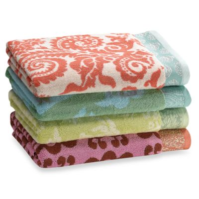 Amy Butler Bath Towels 100 Cotton 10 Organic Blend Bed Bath