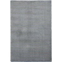 Capel Rugs Gravitation Thin Stripes 3-Foot 11-Inch x 5-Foot 6-Inch Area Rug in Blue