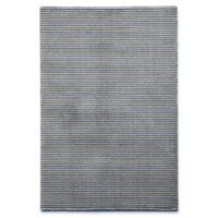 Capel Rugs Gravitation Thin Stripes 5-Foot 3-Inch x 7-Foot 6-Inch Area Rug in Blue