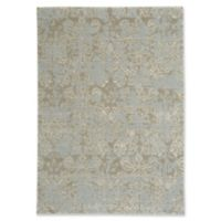 Capel Rugs Kathmandu Floral 5-Foot 3-Inch x 7-Foot 6-Inch Area Rug in Grey