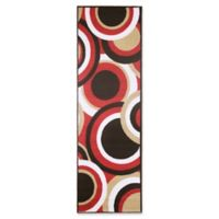 Modern Living Circles 1-Foot 8-Inch x 5-Foot Accent Rug