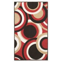 Modern Living Circles 2-Foot 2-Inch x 3-Foot 9-Inch Accent Rug