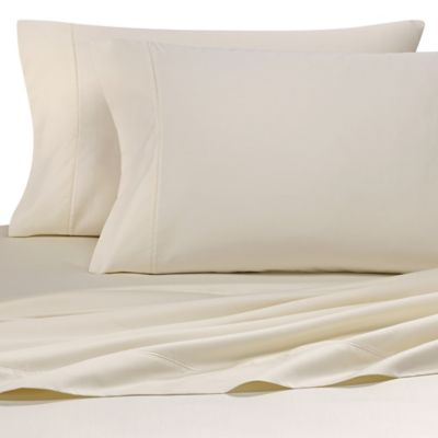 Etonnant Wamsutta® Solid 500 Thread Count PimaCott® Olympic Queen Sheet Set In Ivory