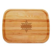 """Carved Solutions Everyday Collection """"Merry Christmas"""" Star 21-Inch x 15-Inch Cutting Board"""