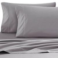 Wamsutta® Solid 500-Thread-Count PimaCott® Full XL Sheet Set in Grey