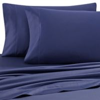Wamsutta® Solid 500-Thread-Count PimaCott® Dual King Sheet Set in Navy