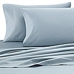 Wamsutta® Solid 500-Thread-Count PimaCott® Dual King Sheet Set in Aqua