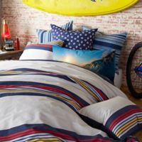 Hang Ten Ocean Beach Full/Queen Comforter Set in White